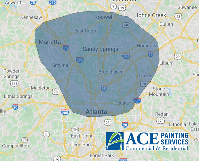 Ace Painting Services service area